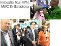Mwc15 tour-kpn innovatie tour voor rvb KPN Mobile World Congres 2015