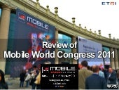 Review of Mobile World Congress 2011