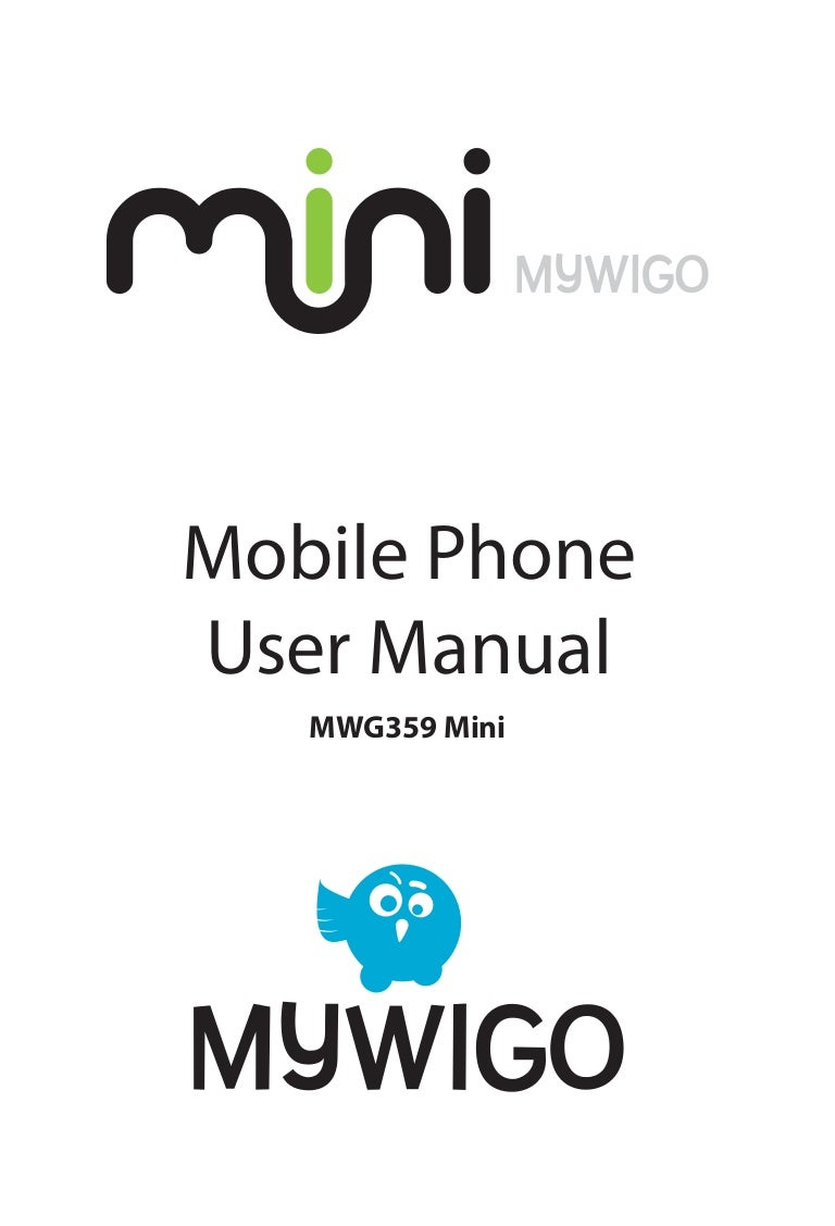 Manual del Usuario del MyWiGo Mini