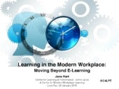 Learning in the Modern Workplace