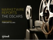 Marketwire Reports - The Oscars