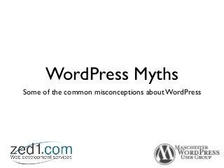 MWUG wp-myths