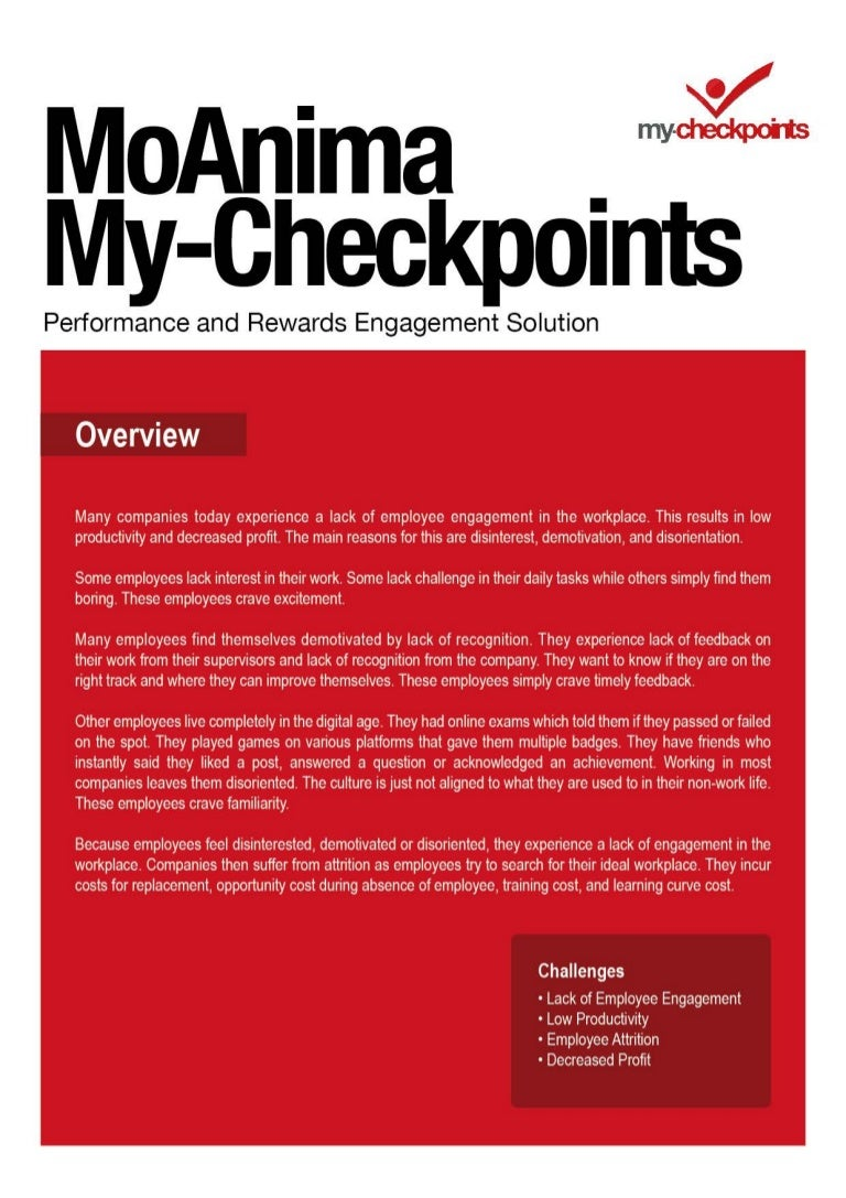 my checkpoints solution information