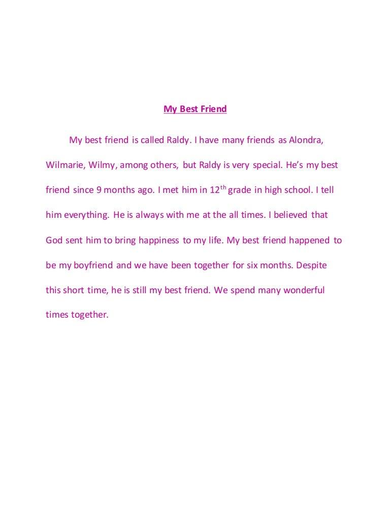 my best friend journal