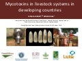 Mycotoxins in livestock systems in developing countries