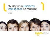 My Day as a Business Intelligence Consultant