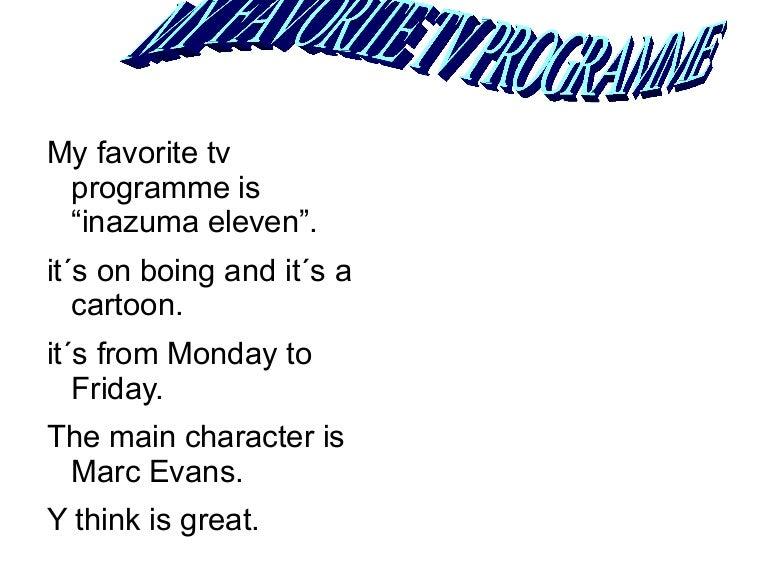 Tvprogramme