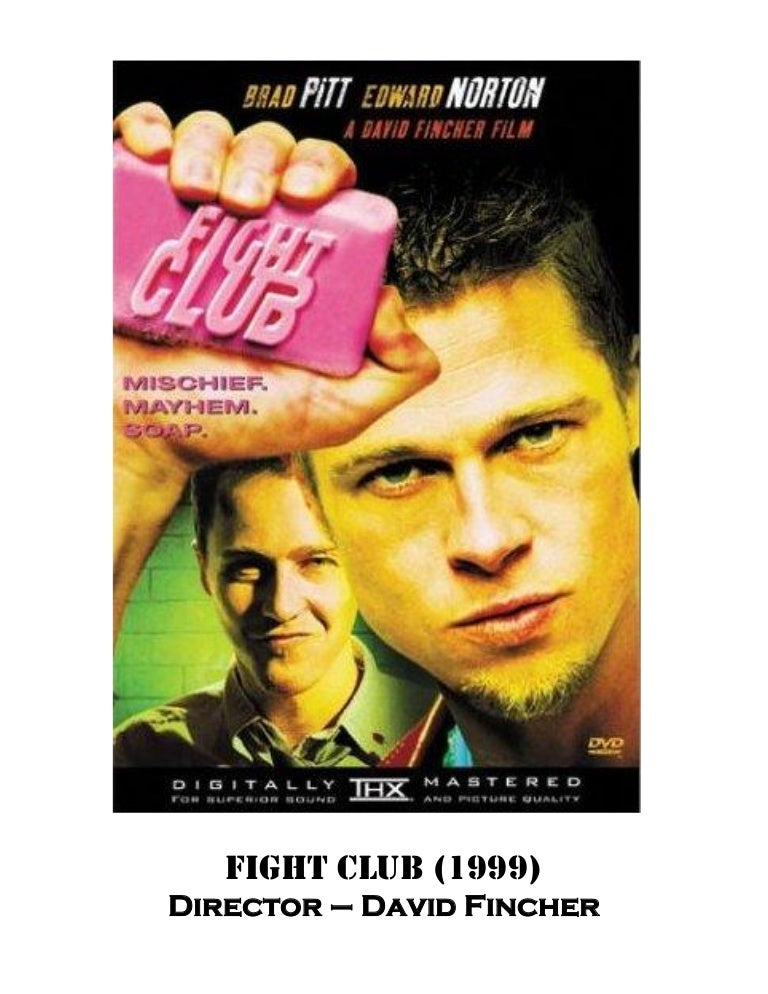 Fight Club Booklet