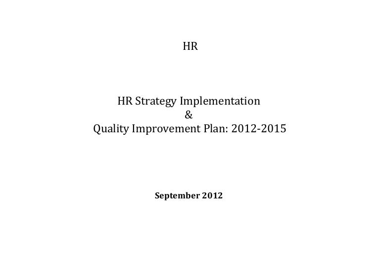 hr strategy template example - Onwe.bioinnovate.co