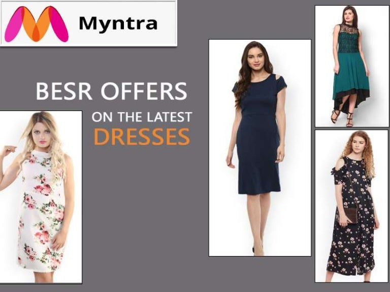 41b0338fdc8a Latest Women s Dresses   Get upto Minimum 40% off on women s Wear at myntra