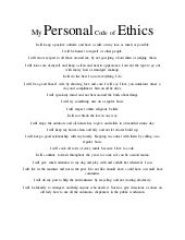 company code of ethics template - where i will get useful mba essay tips and proper guidence