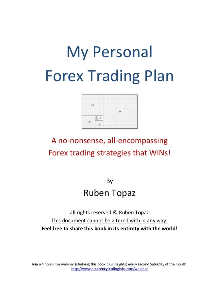 forex business plan pdf