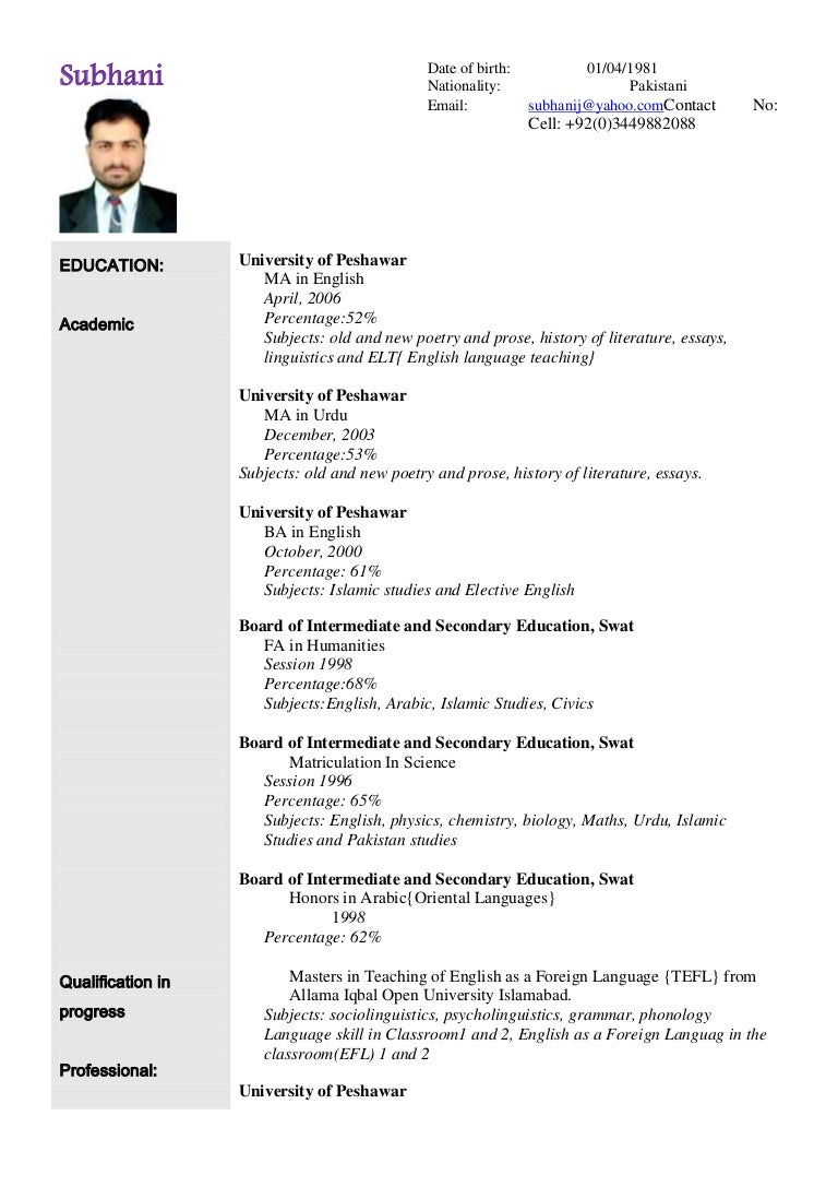 Foreign Language In Resume   Cv Resume Languages