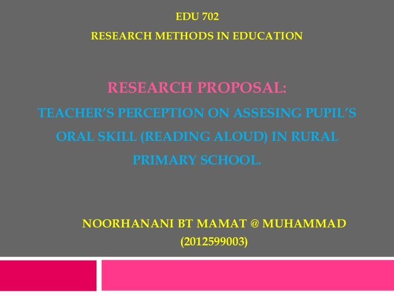research proposal definition ppt