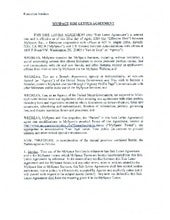 MySpace Side Letter Agreement, Execution Version