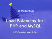 Load Balancing for PHP and MySQL