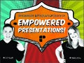 #MyStartupStory of Empowered Presentations! By @coryjim @yanceyu