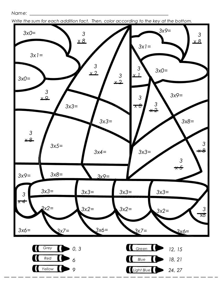 Luxury Mystery Picture Multiplication Photos - Math Worksheets ...