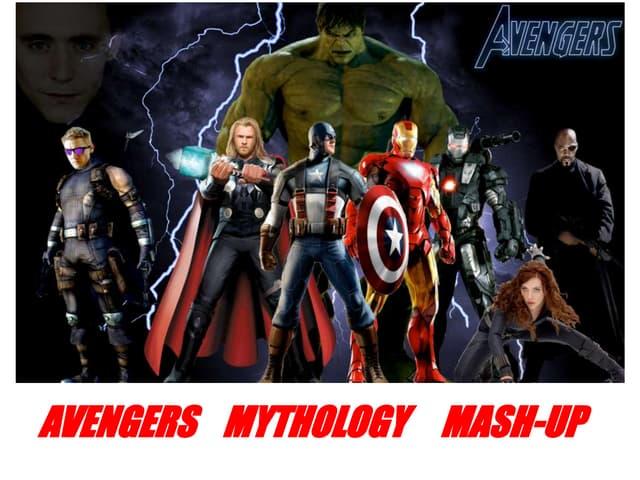 Myth mash up the Avengers compared to mythological gods and heroes