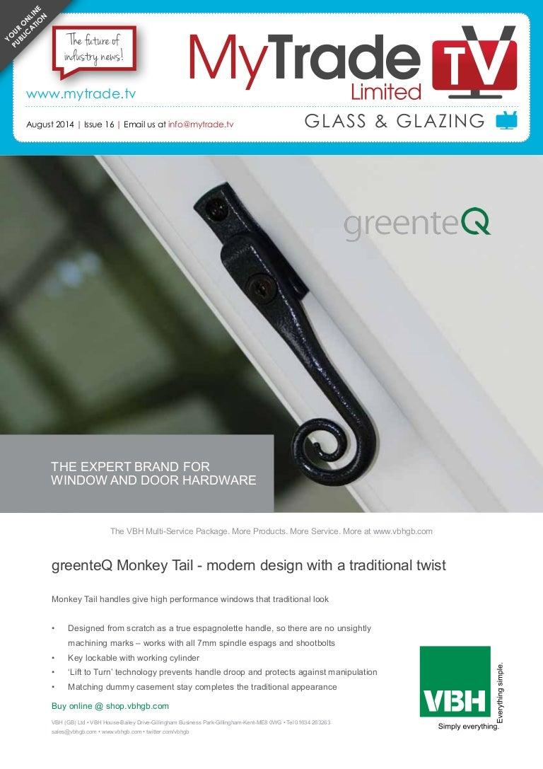 MyTradeTV Glazing Digital Magazine August 2014
