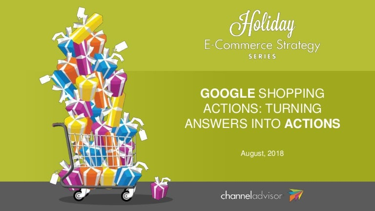google shopping actions turning answers into actions