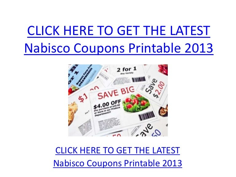 photo relating to Nabisco Printable Coupons known as Nabisco Discount codes Printable 2013 - Nabisco Discount coupons Printable 2013