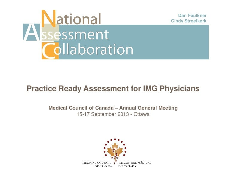 Practice Ready Assessment For Img Physicians
