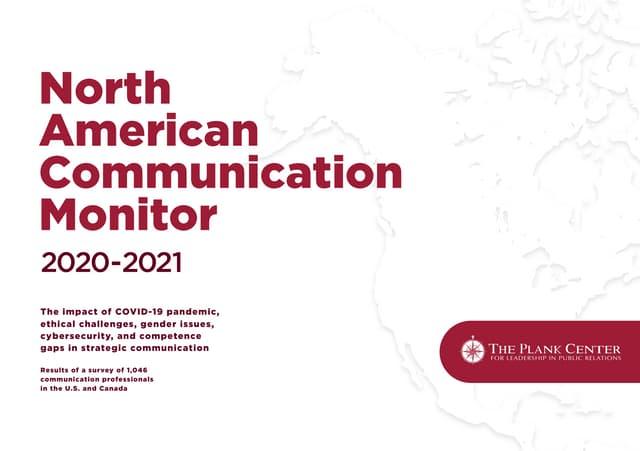 North American Communication Monitor 2020-2021