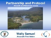 NAFF II - Opportunities awareness training and skills - Wally Samuel