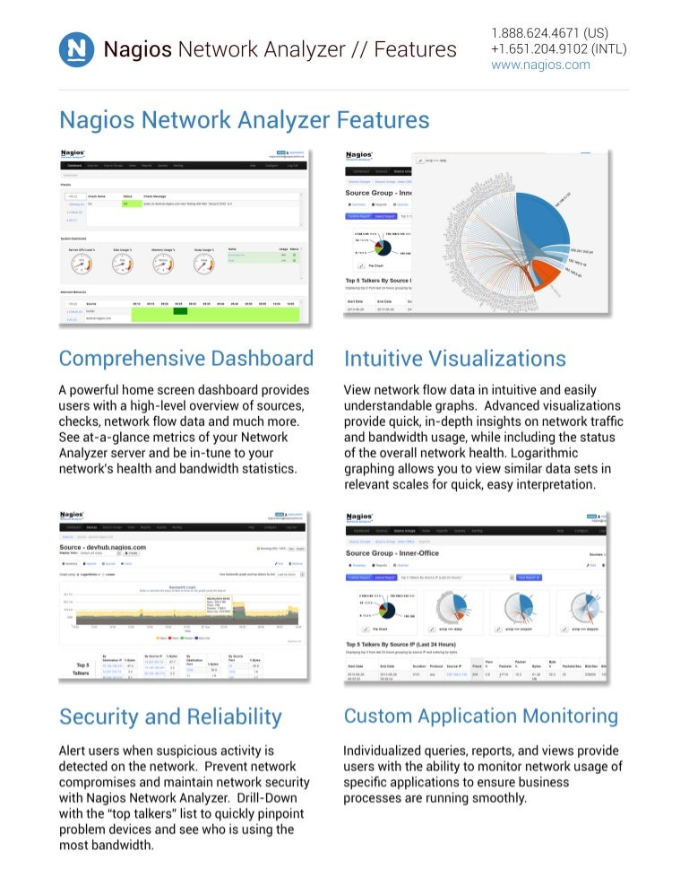 Nagios Network Analyzer - Features