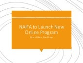 NAIFA to Launch New Online Program