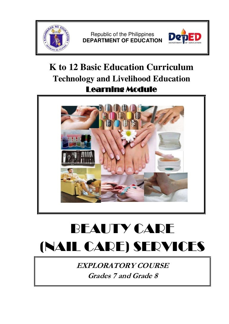 Nail Care Learning Module K 12