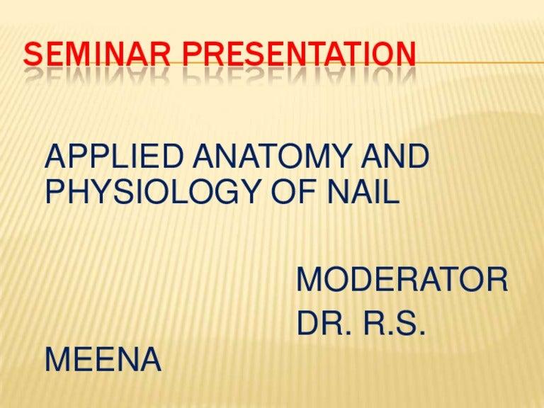 Nail Seminar