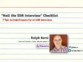 How to Nail an SDR Interview: 7 Tips