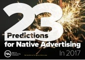 23 Predictions for Native Advertising in 2017 - Native Advertising Institute