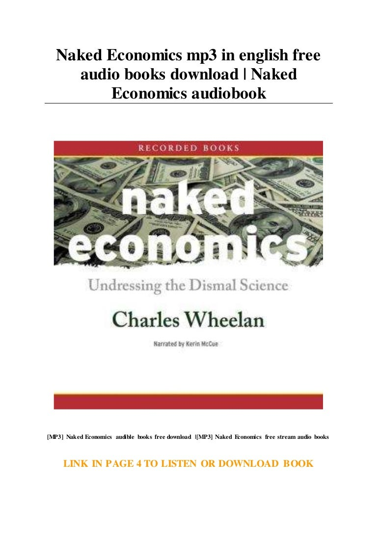 Naked Economics Mp3 In English Free Audio Books Download Naked Econ