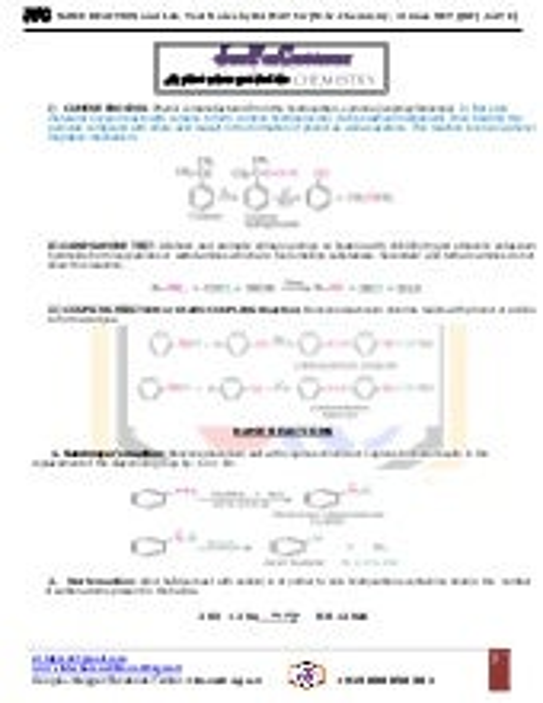 Name reaction mechanism organic chemistry pdf 4shared