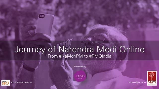 Narendra Modi's Digital Success