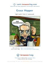 Admiral Grace Hopper - Webcomic about programmers, web developers and browsers