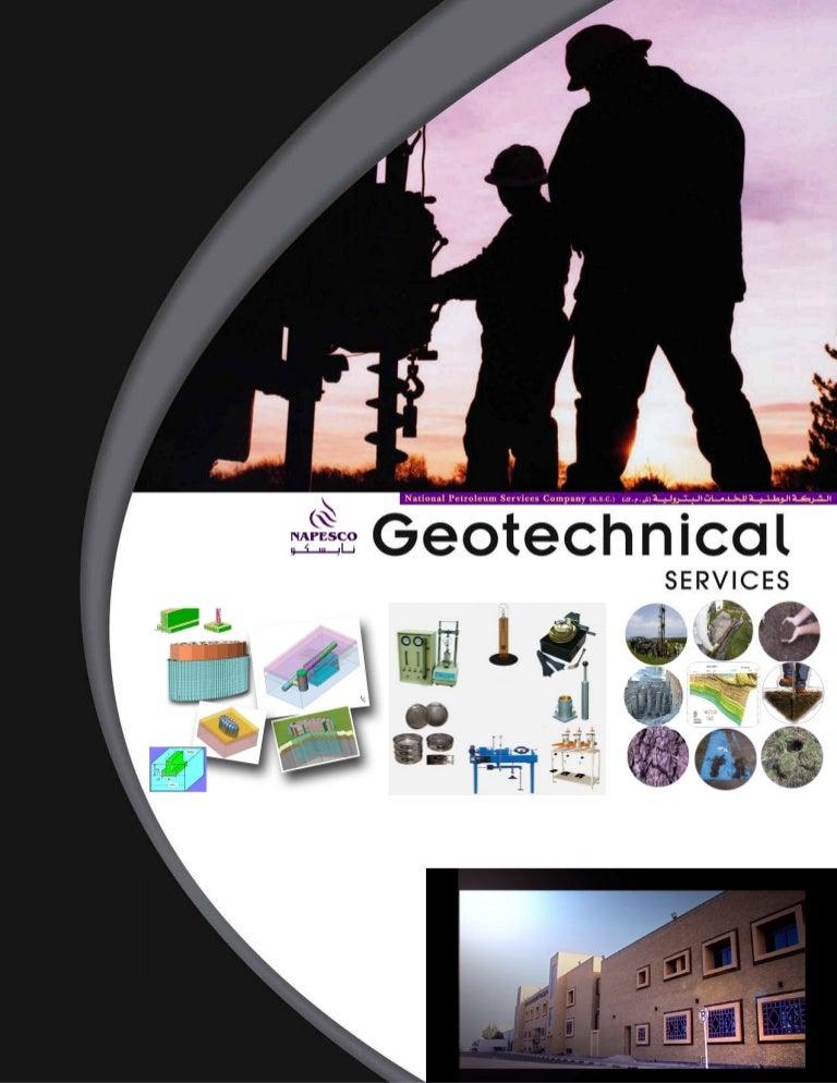Napesco Geotechnical Service Profile