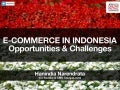Industry Presentation: eCommerce in Indonesia: Opportunities & Challenges