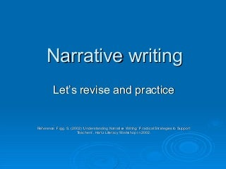 PowerPoint on Narrative