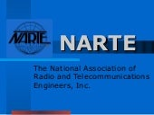 NARTE The National Association of Radio and Telecomunications Engineers, Inc.