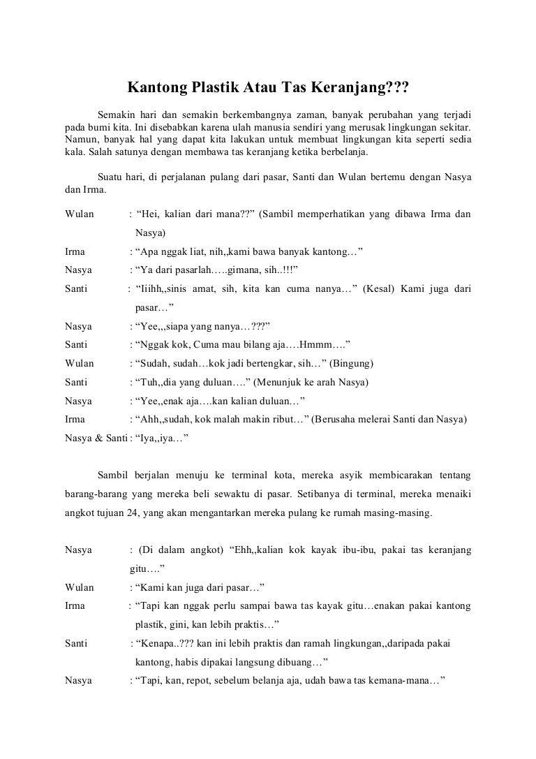 Contoh Teks Anekdot Dan Humor Dalam Bentuk Dialog