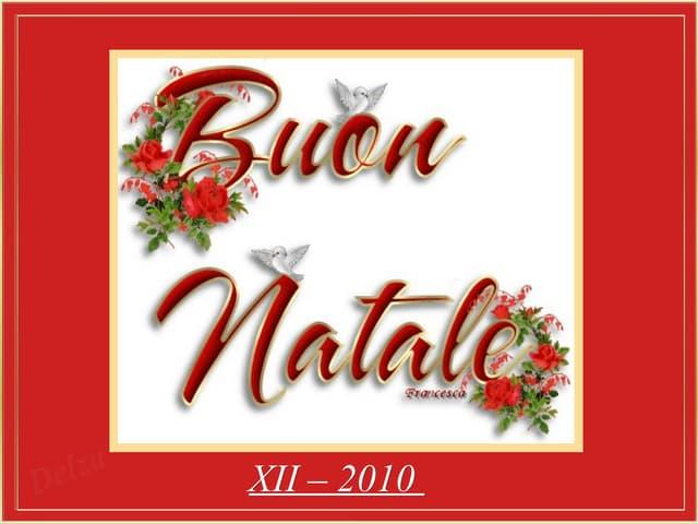 Natale in italia 20101