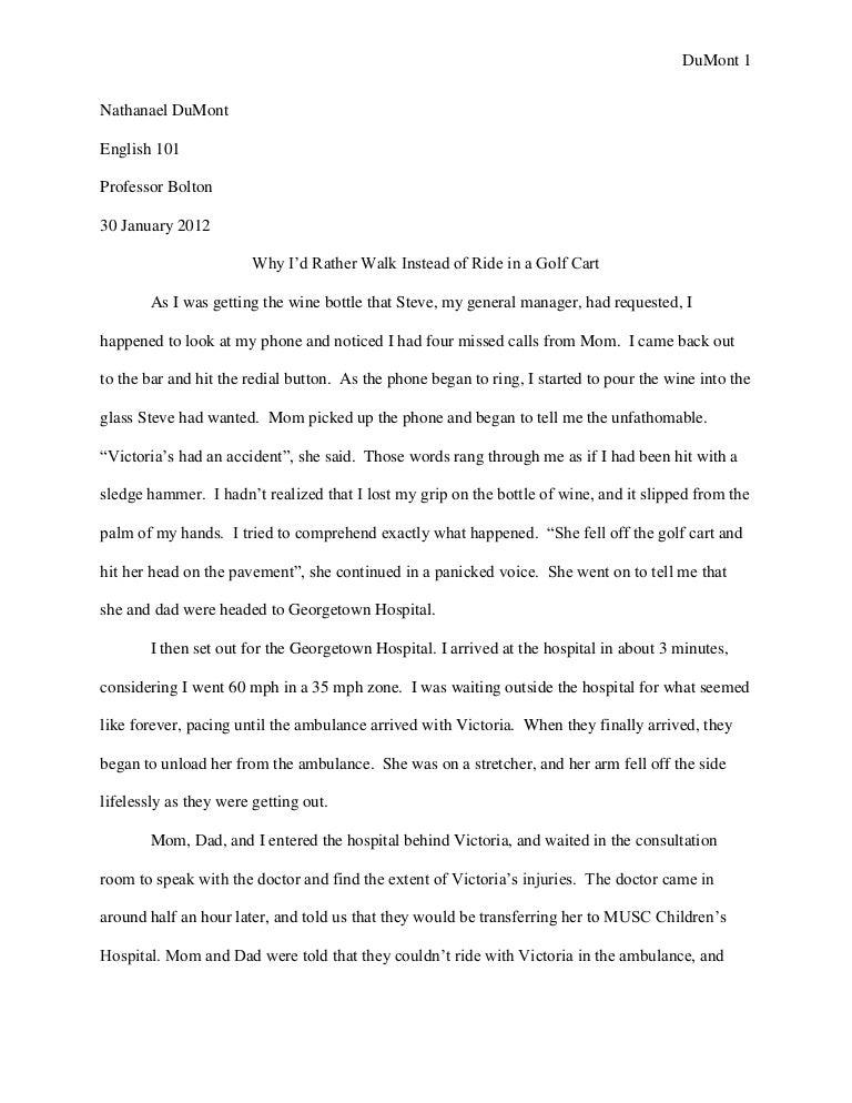 memoir essay