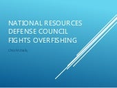 National Resources Defense Council Fights Overfishing