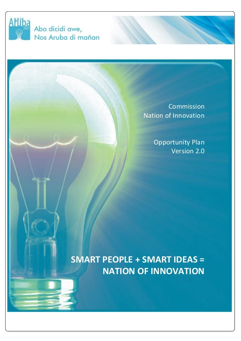 Nation of Innovation - Aruba Opportunity Plan v2 (Commission Nation o…