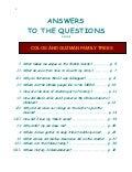 Native American Family Tree - Q&A Book