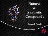 Natural & synthetic compounds